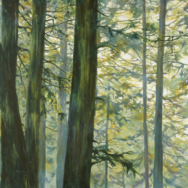 Cheryl Fortier - Trees in Fog II