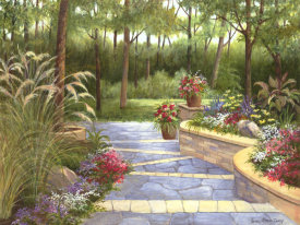 Lene Alston Casey - Garden Terrace