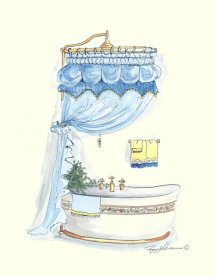 Peggy Abrams - Tubs With Curtains-Bathtime Elegance