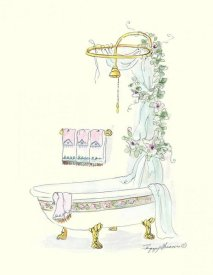 Peggy Abrams - Tubs With Curtains-Bathtime Opulence