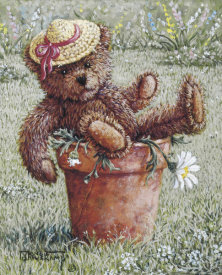 Janet Kruskamp - Bear With A Hat