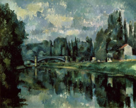 Paul Cezanne - The Banks Of Marne
