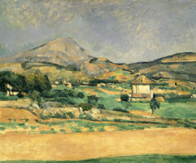 Paul Cezanne - A View Over Mont St. Victoire