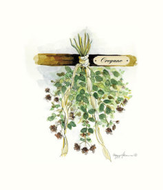 Peggy Abrams - Drying Herbs, Oregeno