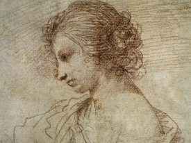Guercino - Profile of a Woman