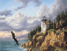 Rudi Reichardt - Bass Harbor Head Lighthouse