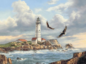 Rudi Reichardt - Boston Lighthouse