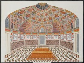 Agra School - Interior of The Tomb of Etahmadowlah