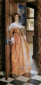 Lady Laura Alma-Tadema - At The Doorway