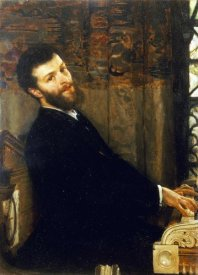 Sir Lawrence Alma-Tadema - Portrait of The Singer George Henschel