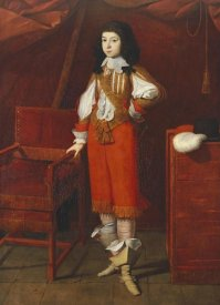 Ecole De Bergamo Autour De - Portrait of a Young Man Wearing Red