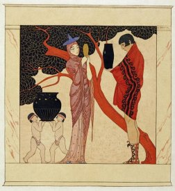 Georges Barbier - The Red Tree
