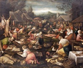 Jacopo Bassano - A Country Market