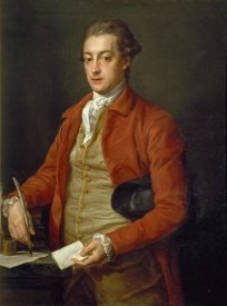 Pompeo Girolamo Batoni - Portrait of The Honorable Lionel Damer