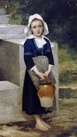 William-Adolphe Bouguereau - La Fille D'Eau