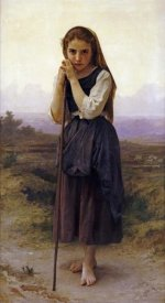 William-Adolphe Bouguereau - Petite Bergere