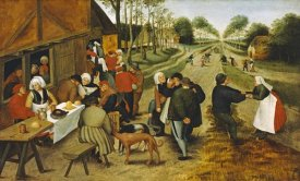 Pieter Bruegel the Elder - Peasants at a Roadside Inn