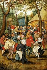 Pieter Bruegel the Elder - The Wedding Feast