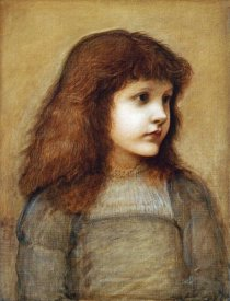 Sir Edward Burne-Jones - Portrait of Gertie Lewis