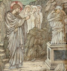 Sir Edward Burne-Jones - The Raising of Lazarus