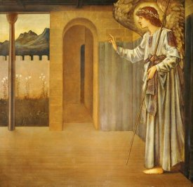 Sir Edward Burne-Jones - The Annunciation