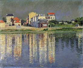 Gustave Caillebotte - Banks of The Seine at Argenteuil