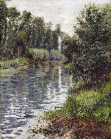 Gustave Caillebotte - A Small Branch of The Seine, Argenteuil