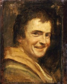 Annibale Carracci - A Smiling Youth