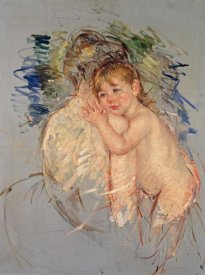 Mary Cassatt - A Study For 'Le Dos Nu'