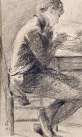 John Constable - Portrait of An Artist Sketching