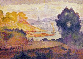 Henri Edmond Cross - A View of Menton