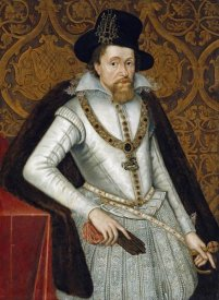 John De Critz - Portrait of King James VI of Scotland, James I of England
