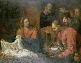 Giovanni Andrea De Ferrari - The Adoration of The Shepherds