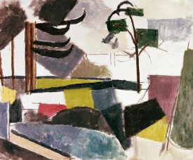 Roger De La Fresnaye - Unfinished Landscape With Tree Branches