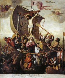 Alejandro De Loarte - The Boat of Christian Patience