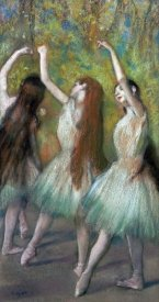 Edgar Degas - Green Dancers