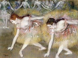 Edgar Degas - Dancers Bending Down