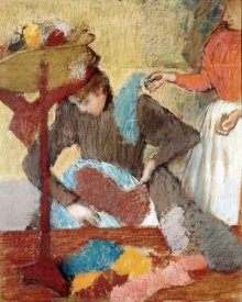 Edgar Degas - The Hatmaker