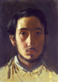 Edgar Degas - Degas Self Portrait