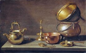 Jacob Willemsz Delff - A Still Life of Kitchenware
