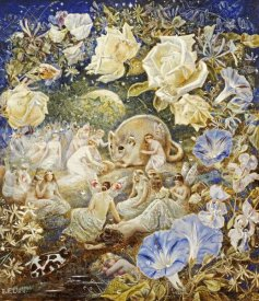 Etheline E. Dell - Fairies and a Field Mouse