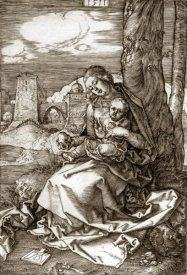Albrecht Durer - The Virgin and Child With The Pear