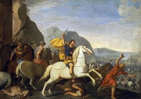 Aniello Falcone - Saint James at The Battle of Clavijo