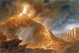 Francesco Fidanza - The Eruption of Vesuvius, 1768