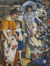 Elizabeth Adela Stanhope Forbes - The Christmas Tree