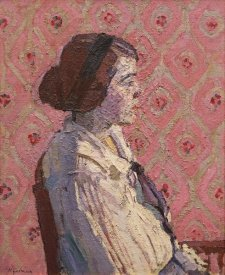 Harold Gilman - A Portrait In Profile