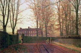 John Atkinson Grimshaw - Going To Church