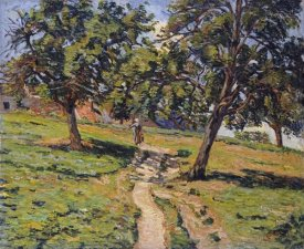 Armand Guillaumin - Pathe at Damiette