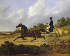 John Frederick Herring - Confidence', Drawing a Gig Driven By a Groom