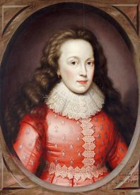 Cornelius Johnson - Portrait of Alathea, Countess of Arundel